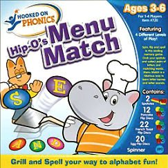 Endless Games - Hooked on Phonics: Hip-O's Menu Match