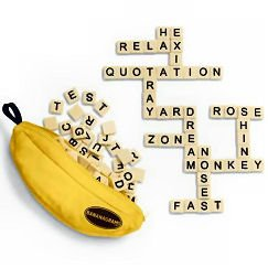 Bananagrams - Portable Word Game